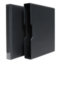 "1.5"" Universal 3-Ring Binder with Slipcase (Black)"