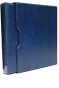 "1.5"" Universal 3-Ring Binder with Slipcase (Blue)"
