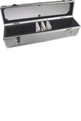 Universal Aluminum 25 Slab Display / Storage Box