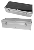 ALUMINUM DOUBLE ROW SLAB UNIVERSAL/DISPLAY STORAGE BOX