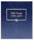 Whitman Half Cents 1793-1857