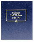 Whitman Franklin Half Dollars 1948-1963