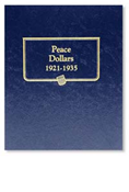 Whitman Peace Dollars 1921-1935