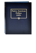 Whitman Native American Dollars 2009-Date
