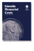 Whitman Lincoln Memorial Cents 1959-1998 Folder