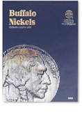 Whitman Buffalo Nickels 1913-1938 Folder